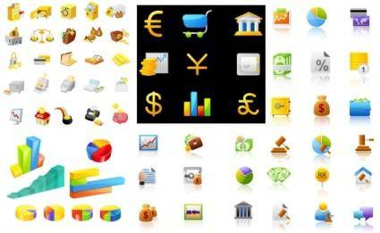 free vector Icon daquan financial articles vector