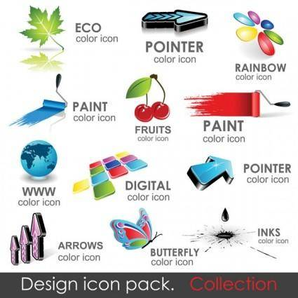 Icons logo vector