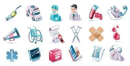 free vector Medical subjectdimensional icon vector