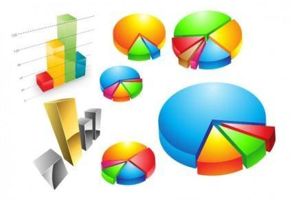 free vector Practical statistics icon vector