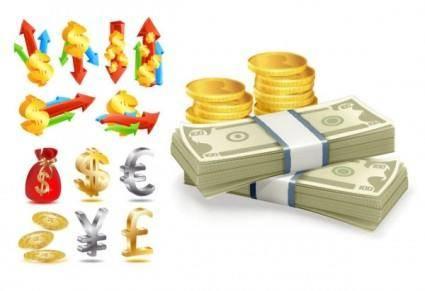 free vector Finance icon vector