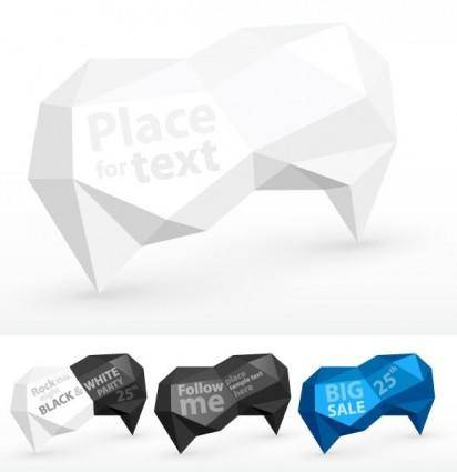 free vector Fold dialog 02 vector