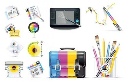 Designers dedicated icon vector