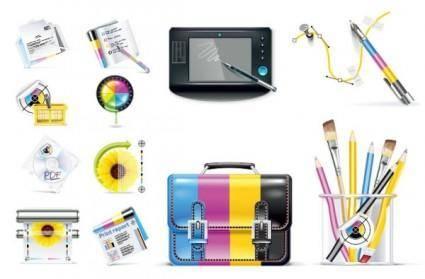 Designers dedicated icon vector