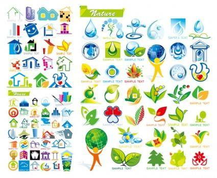 House with ecological theme icon vector