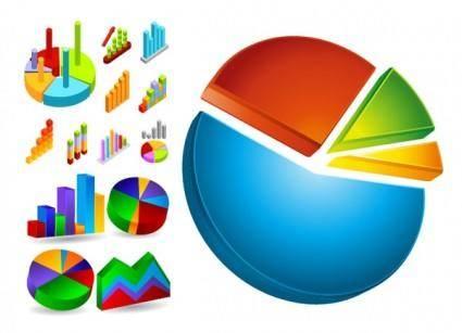 Data analysis and statistics icon vector