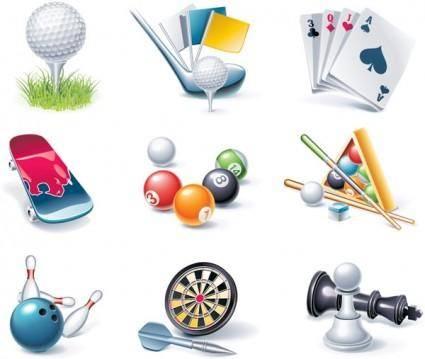 free vector Game entertainment icon vector