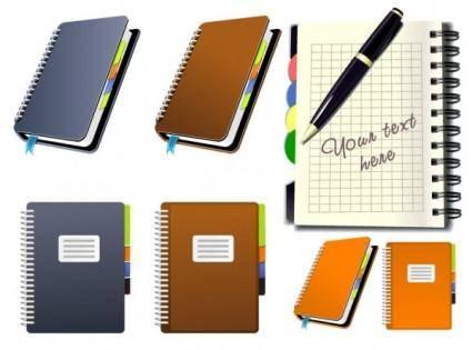free vector Notepad icon vector