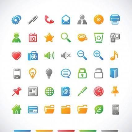 free vector Simple icon vector