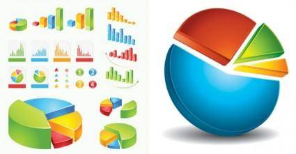 Practical statistics icon vector