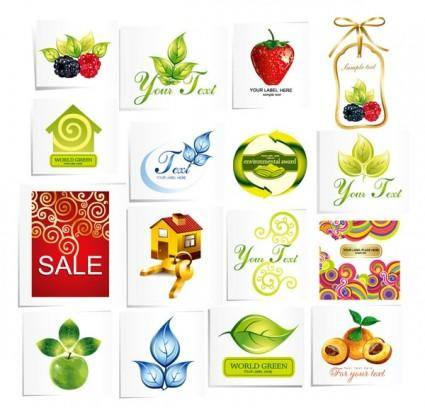 Some feel fresh icon vector