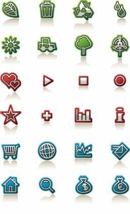 free vector Simple decorative icon vector
