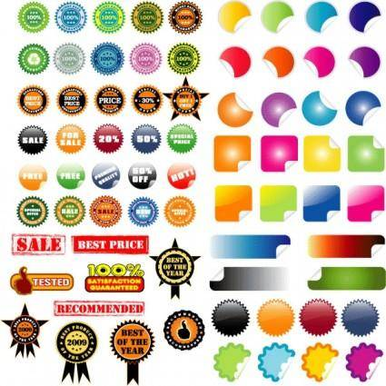 free vector Practical decorative icon vector