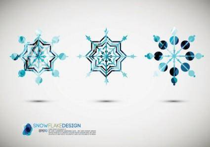 free vector Snow style icon 02 vector