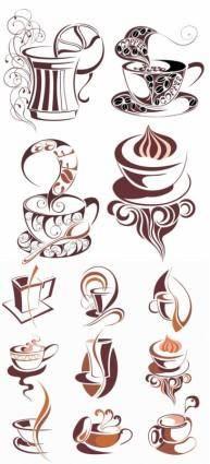 free vector Coffee icon vector