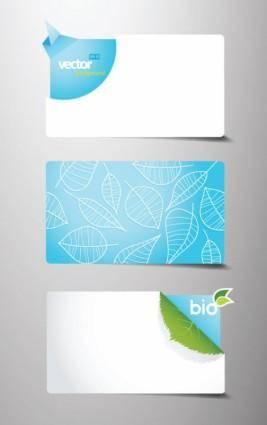 free vector Beautiful card template 01 vector