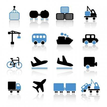 free vector Transport icon 03 vector