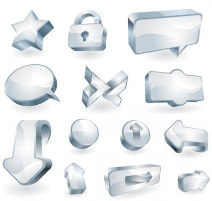 free vector A clean glass icon vector texture