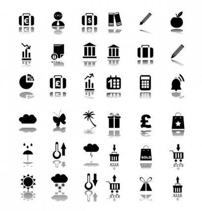 free vector Simple black vector icon