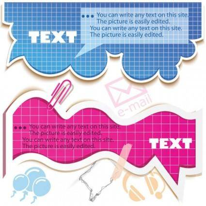 free vector Fine label 01 vector