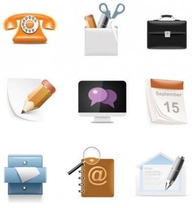Everyday common icons 04 vector