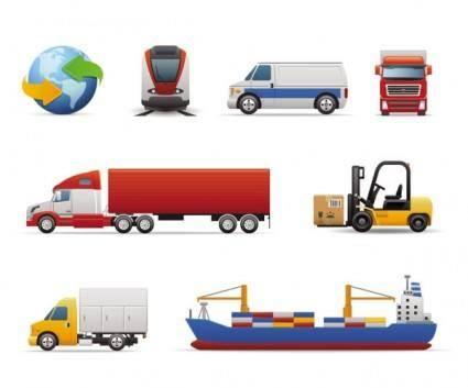Vehicle icon 01 vector