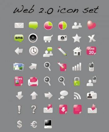 free vector Practical fine web icon 01 vector