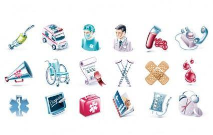 free vector Health and Medical Vector Icon Set