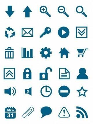 free vector Free Vector Icon Set