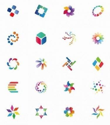 Colorful Vector Icon Set