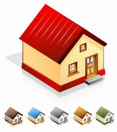 free vector House Vector Icon Set