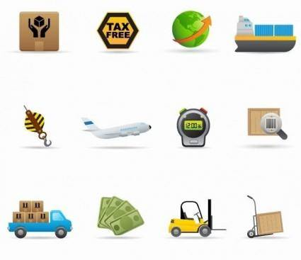 Delivery Icon Vector Set