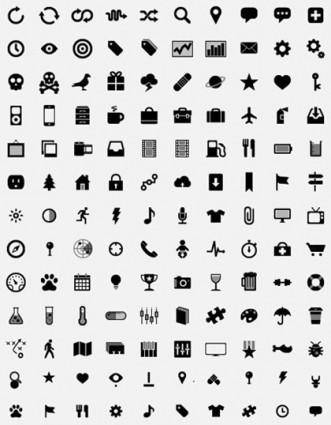 free vector Simple Small Icons Vector Graphics