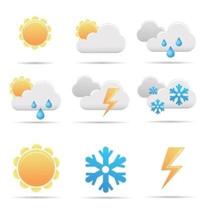 free vector Free Simple Vector Weather Icon