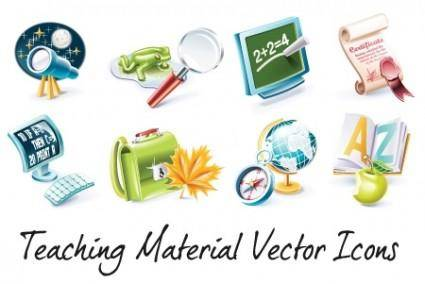 Teaching Vector Material Icons – Vol 2