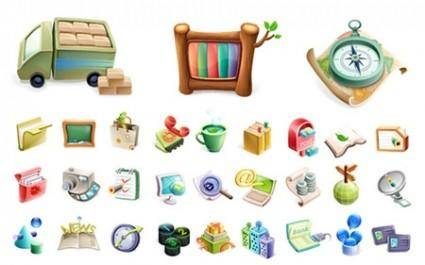 free vector Vector Exquisite Icons