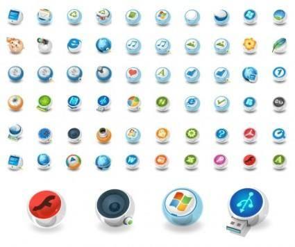 Circular Vector Icons