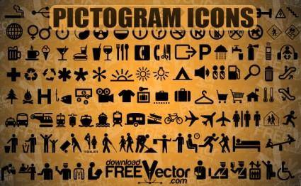 free vector Free Vector Pictogram Icons