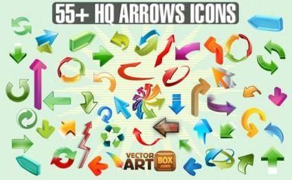 free vector Arrows Icons