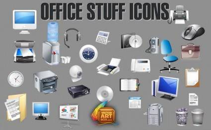 free vector Office Accessories Icons