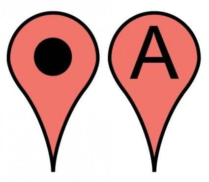 free vector Free Google Maps Pointer Icon