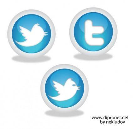 free vector Icons Twitter Vector Beta1