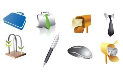 free vector Various Item Icon Set