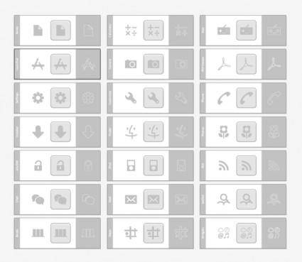 free vector Grey Icons