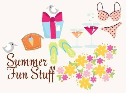 free vector Summer Vector Icons and Fun Stuff