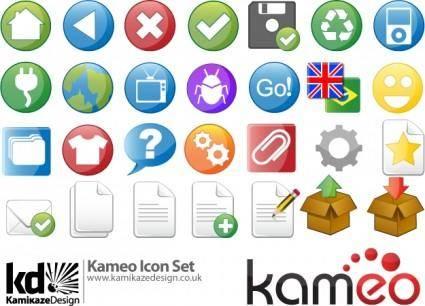 free vector Kameo Icon Set