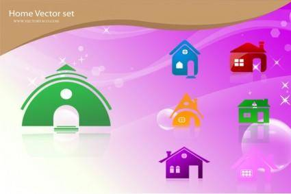 Free Vector Home Icons