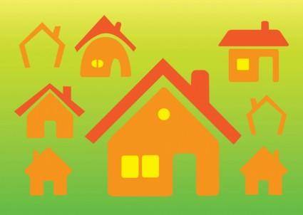 free vector Home Vector Icons