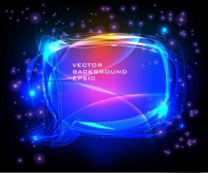 free vector Brilliant neon effects 05 vector