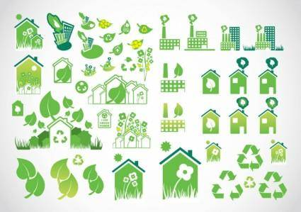 free vector Environmental Icons